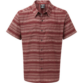 Sherpa Bhaku Shirt Heren, ganden red